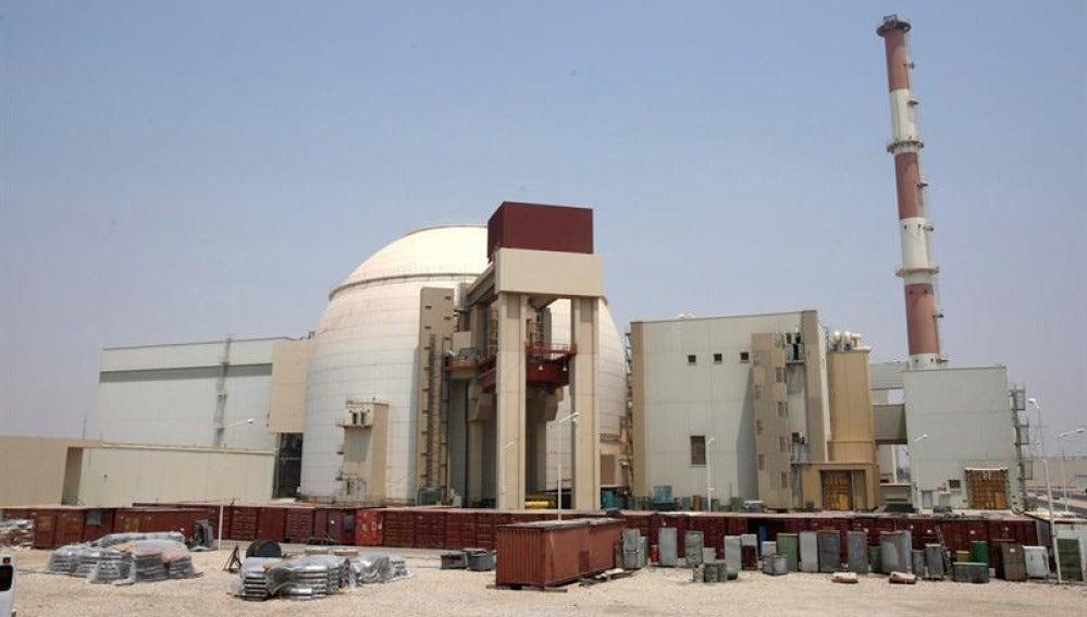 Imagen de una planta nuclear en Bushehr, Irán