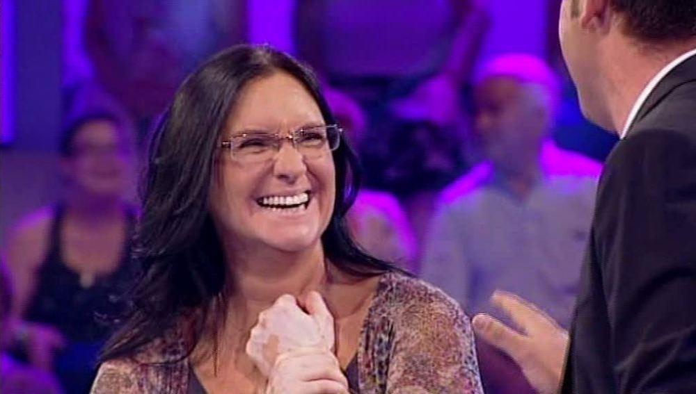 Bárbara gana 100.000 euros en Ahora caigo
