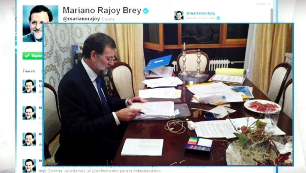 Mariano Rajoy en Twitter