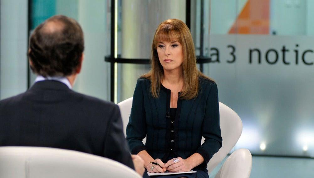 Gloria Lomana entrevista a Mariano Rajoy