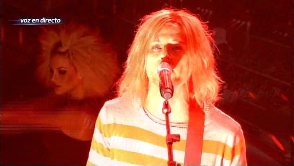Julio Iglesias Jr imita a Kurt Cobain en Tu cara me suena