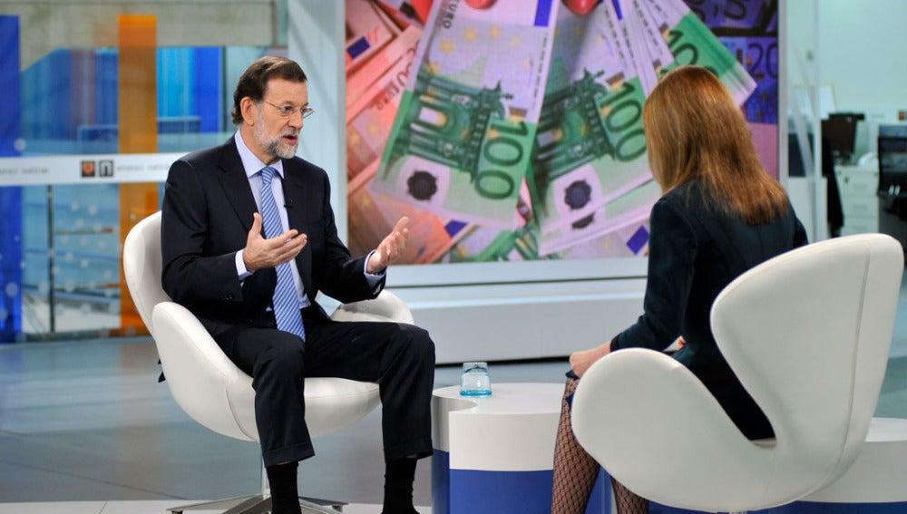 Entrevista a Mariano Rajoy en Antena 3