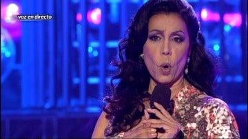 Toñi Salazar se mete en la piel de Isabel Pantoja en Tu cara me suena