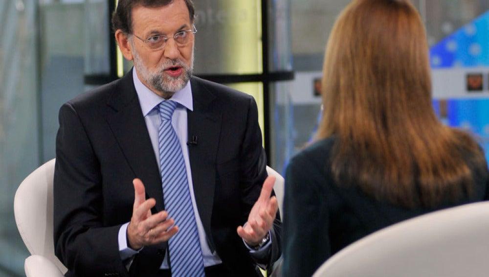 Mariano Rajoy responde a Gloria Lomana