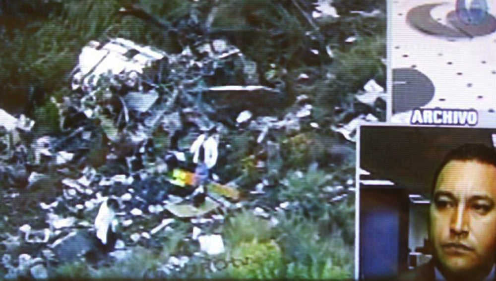 Accidente de helicóptero de Francisco Blake