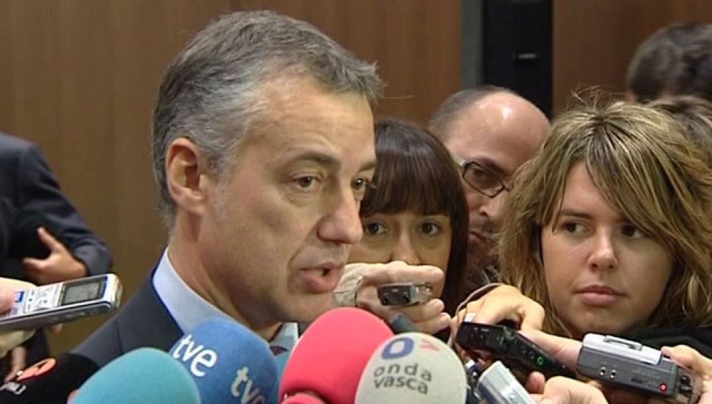 Íñigo Urkullu, presidente del PNV