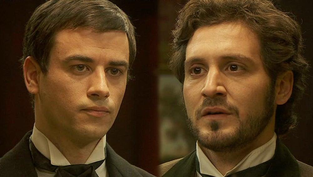 Tristán y Olmo discuten