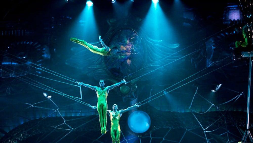 Zarkana, el espectáculo del Circo del Sol