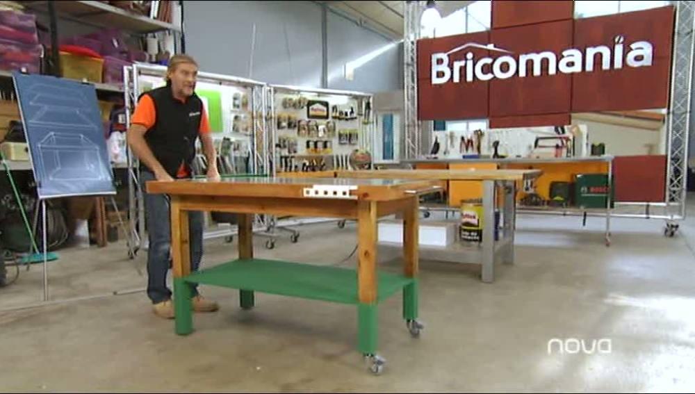Restaurar una mesa de trabajo