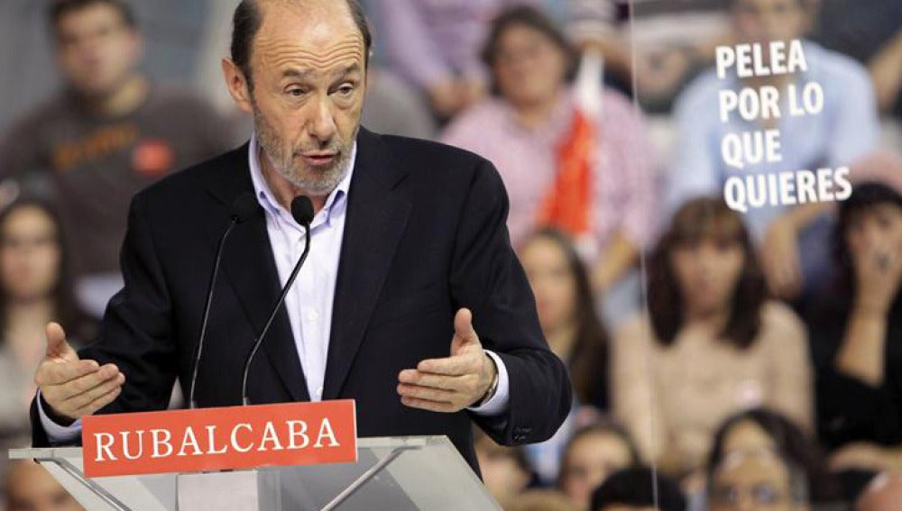"""Rubalcaba asegura que """"los escaños están en manos de los ciudadanos"""""""