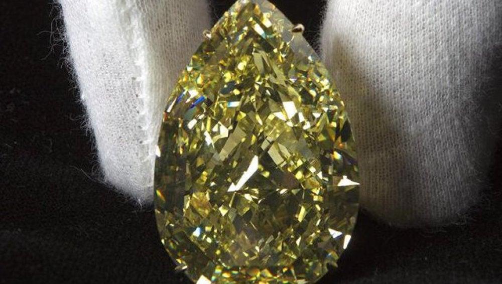 Vendido el diamante amarillo más grande del mundo