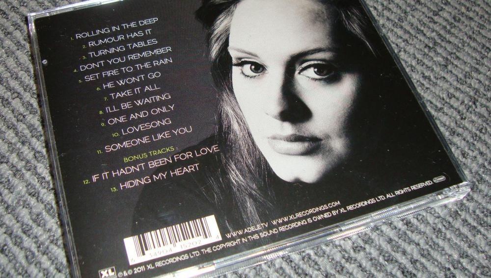 Disco 21 de Adele
