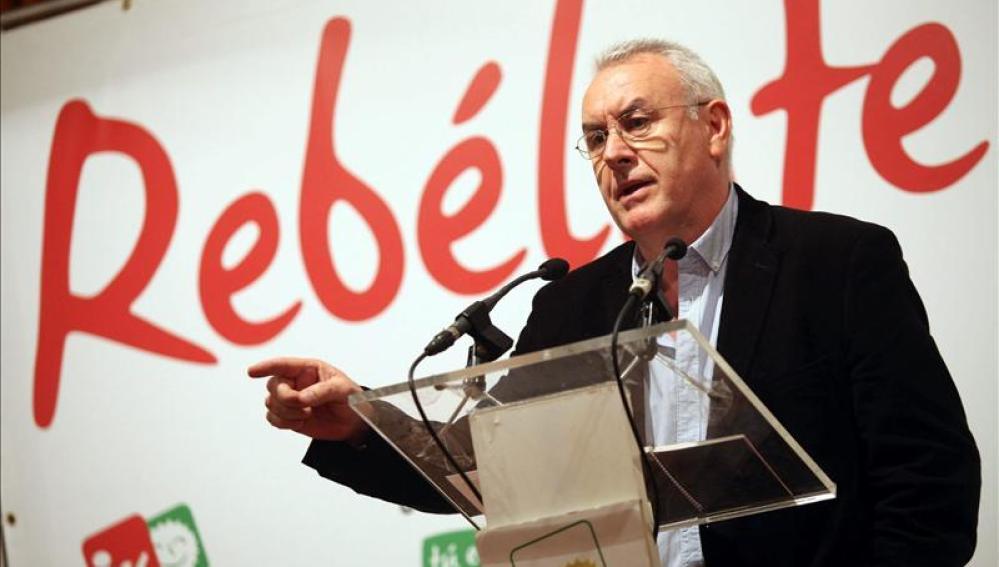 Cayo Lara, líder de Izquierda Unida