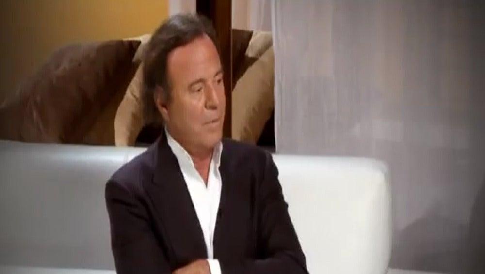 Julio Iglesias habla en Espejo Público