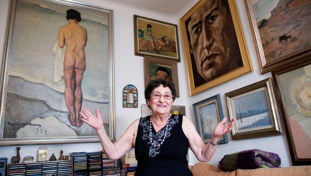 La poetisa Francisca Aguirre