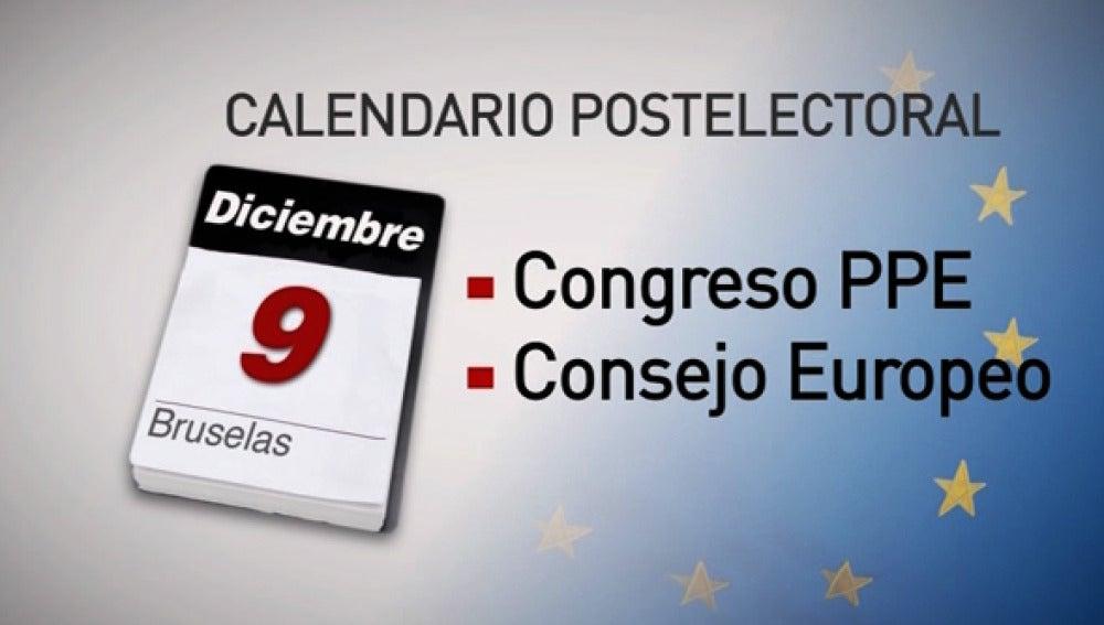 Calendario electoral.