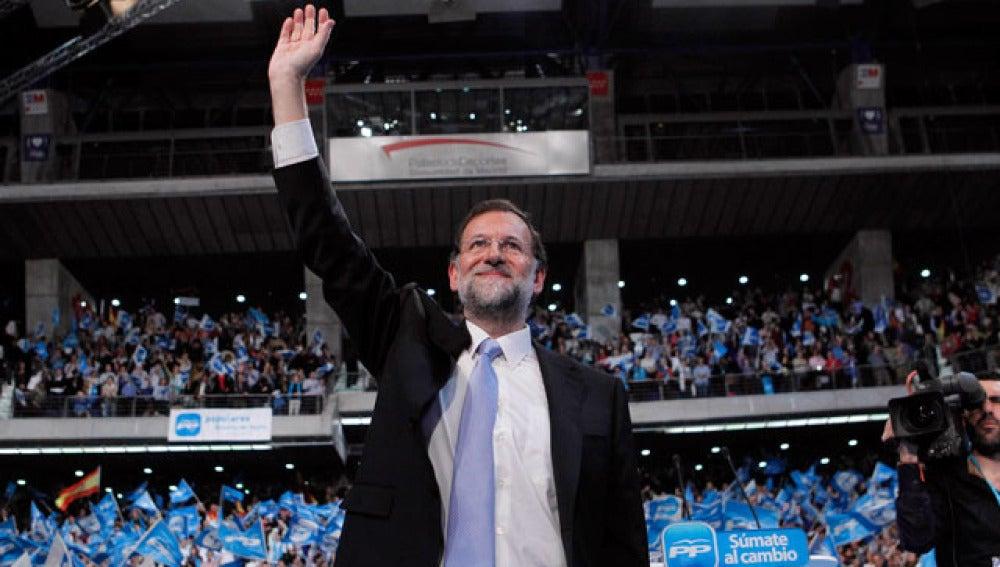 Mariano Rajoy cierra la campaña