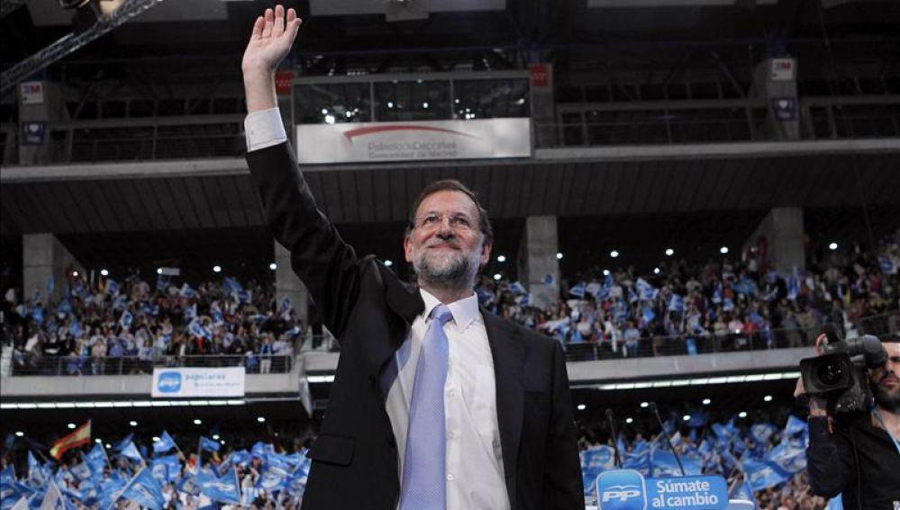 Rajoy cierra la campaña electoral