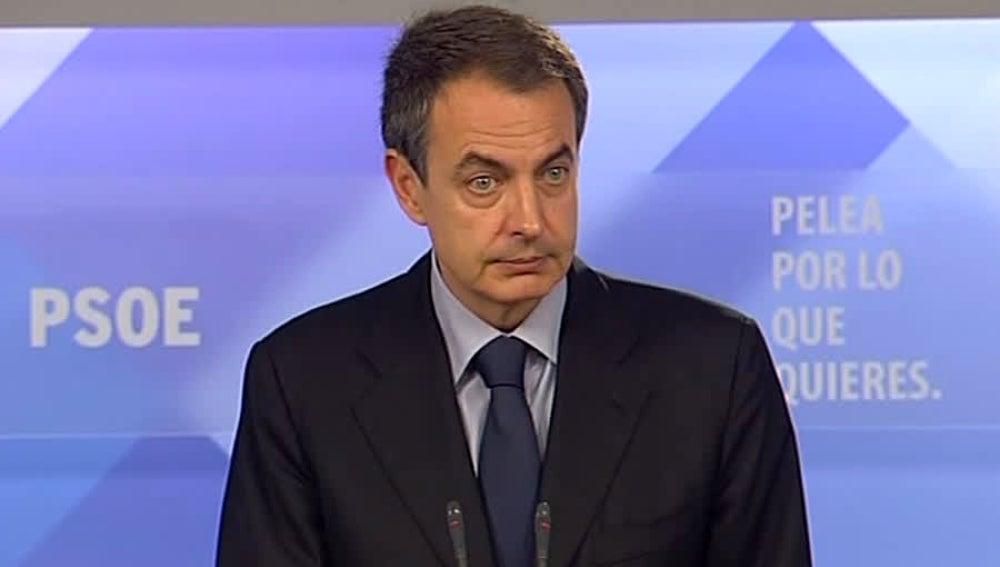 Zapatero anuncia el Congreso Federal del PSOE