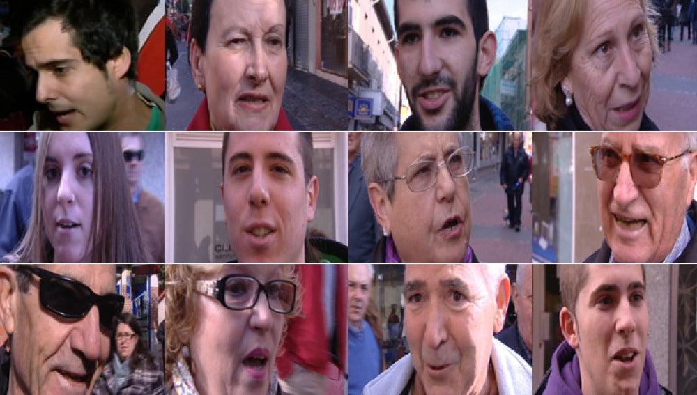 La gente de la calle le exige a Mariano Rajoy