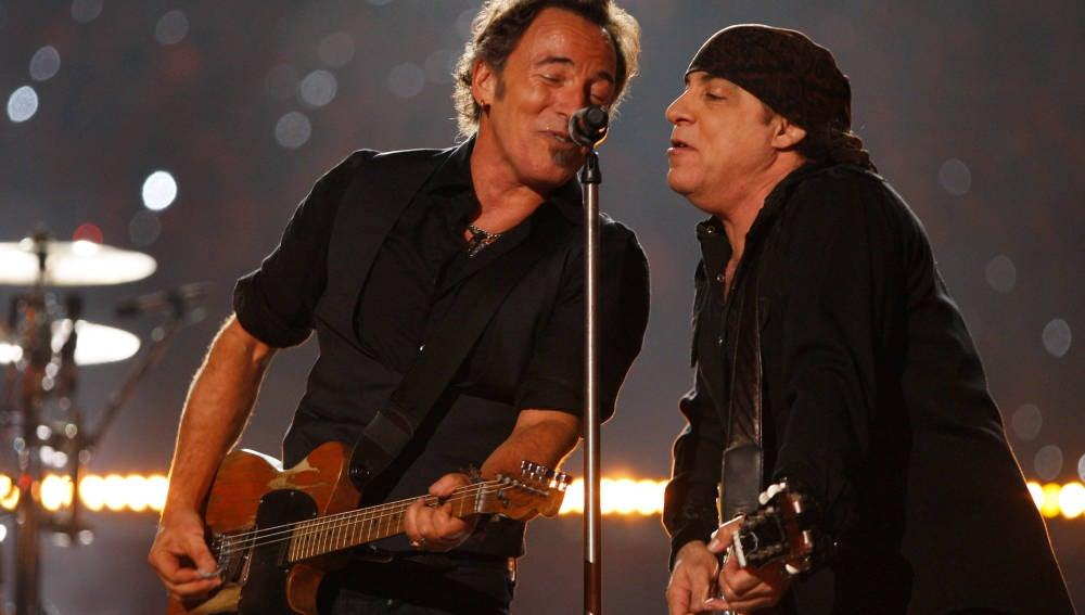 Bruce Springsteen y Steven Van Zandt