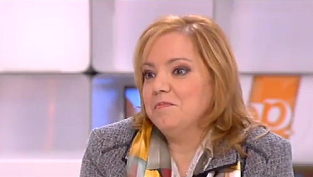 Esther Chaves en Espejo Público