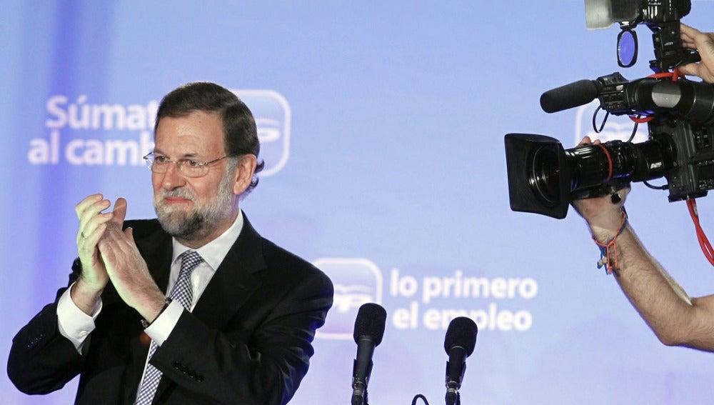 Mariano Rajoy, líder del PP
