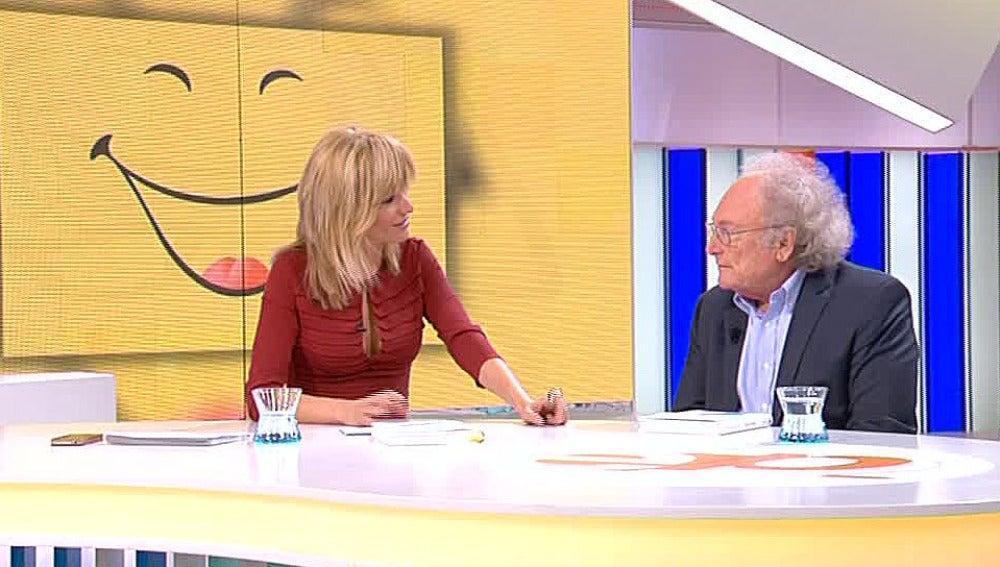 Susanna Griso entrevista a Eduard Punset