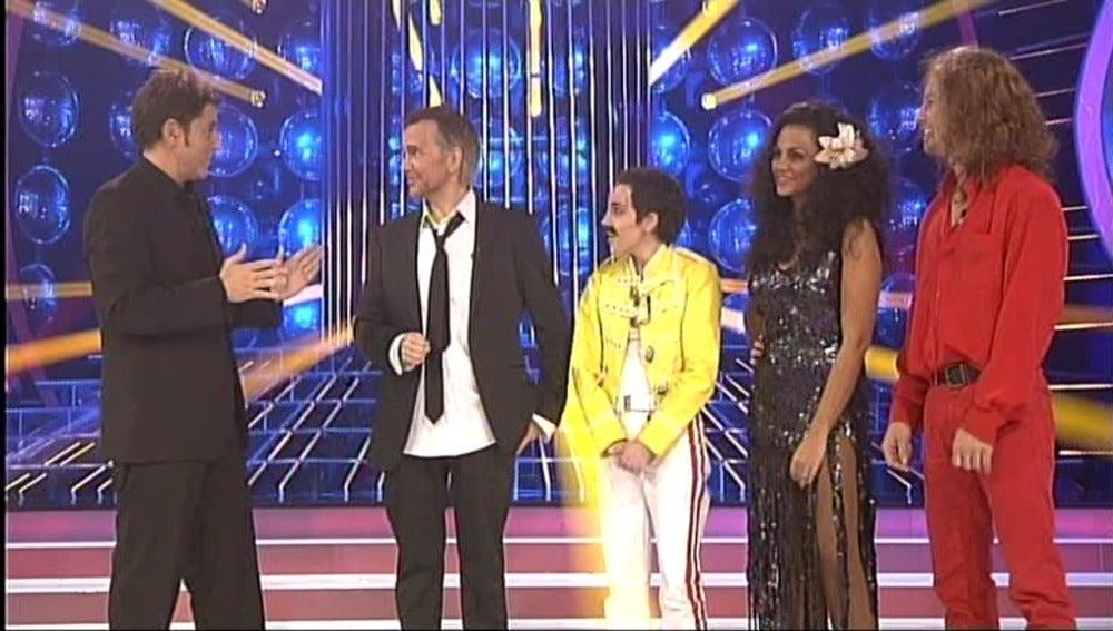 Los cuatro finalistas de la gala final