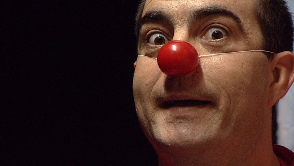 La magia de una nariz roja
