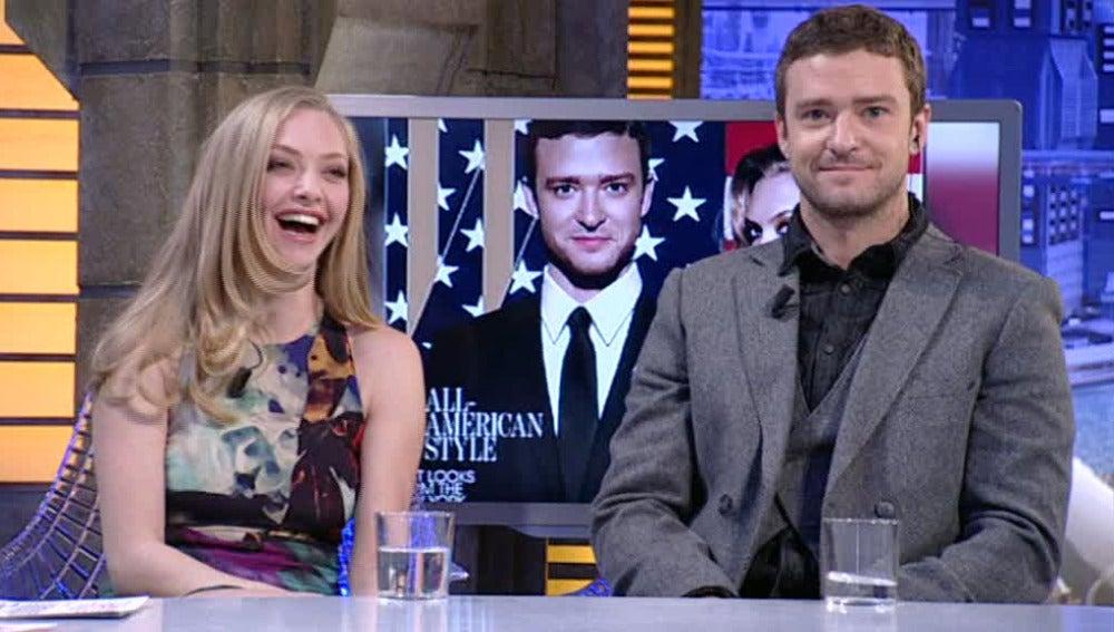 Justin Timberlake y Amanda Seyfried en El Hormiguero