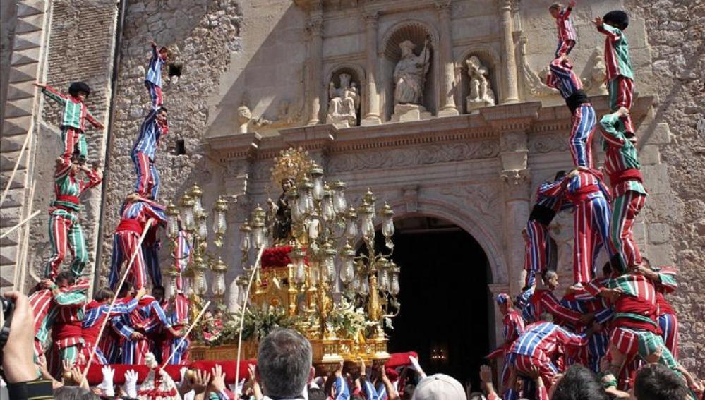 Algemesí recibe con campanadas que su fiesta sea Patrimonio de la Humanidad