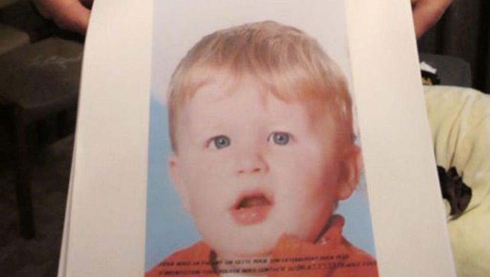 El pequeño Bastien, que murió tras meterlo en una lavadora