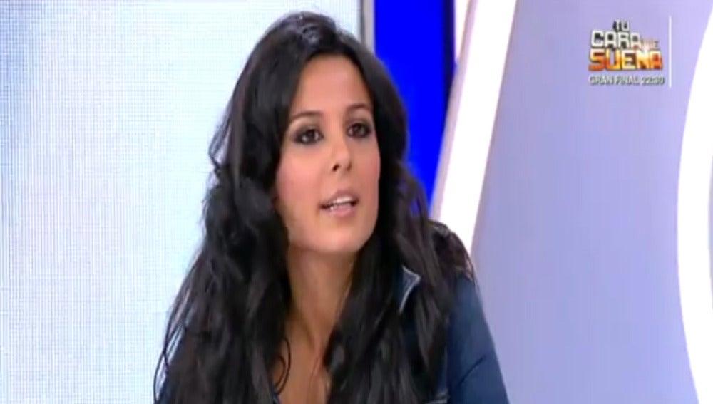 Miss Guipúzcoa visita a Espejo Público