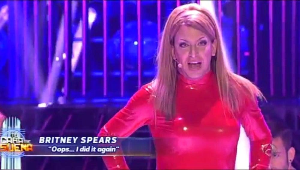 Arturo Valls imita a Britney Spears