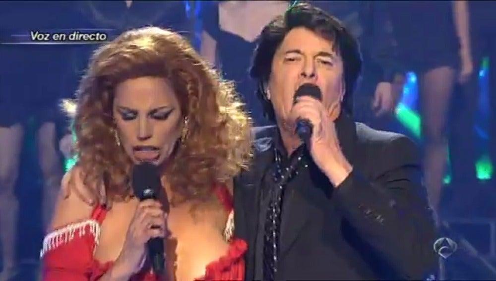Gala 10 | Toñi Salazar y Francisco cantan 'Como una ola'
