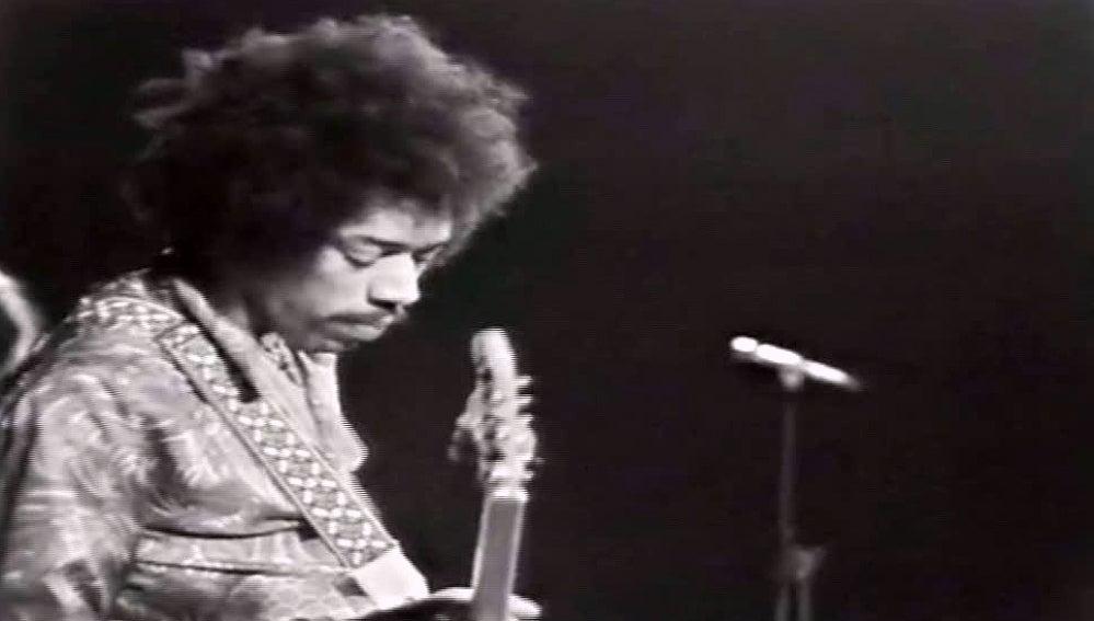 Jimi Hendrix en la Deutschlandhalle