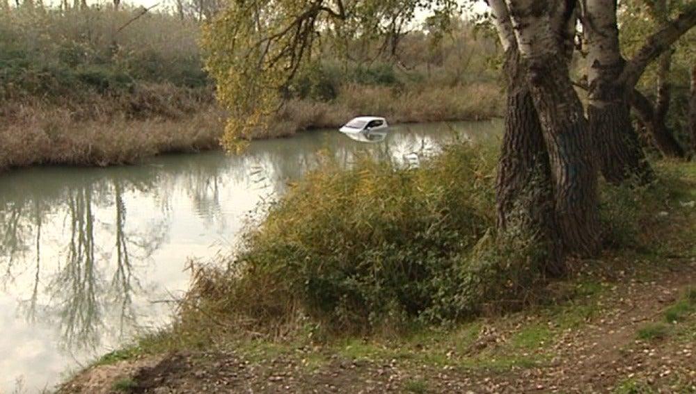 Dos jóvenes caen Tajo tras un accidente