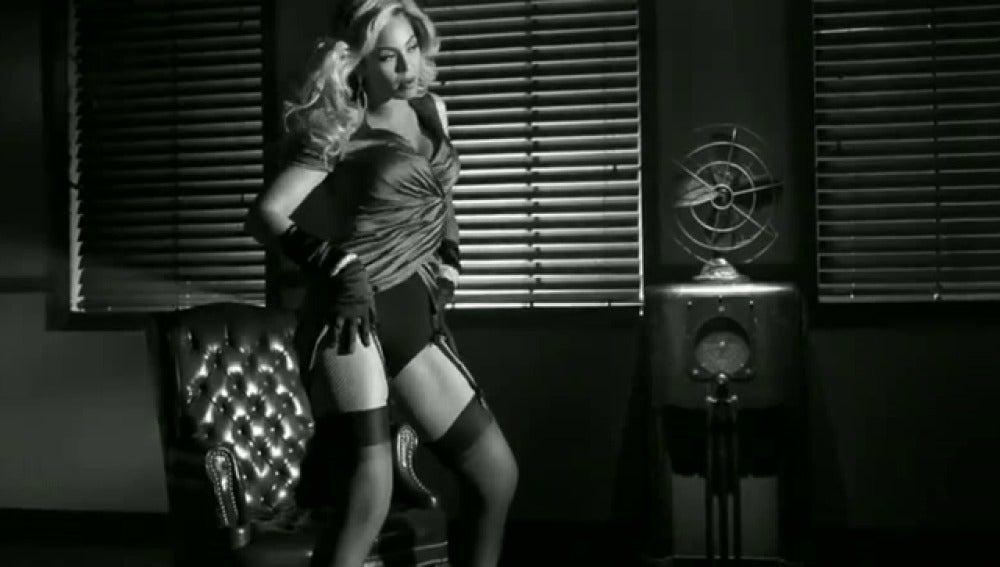 Beyonce, a lo Bogart