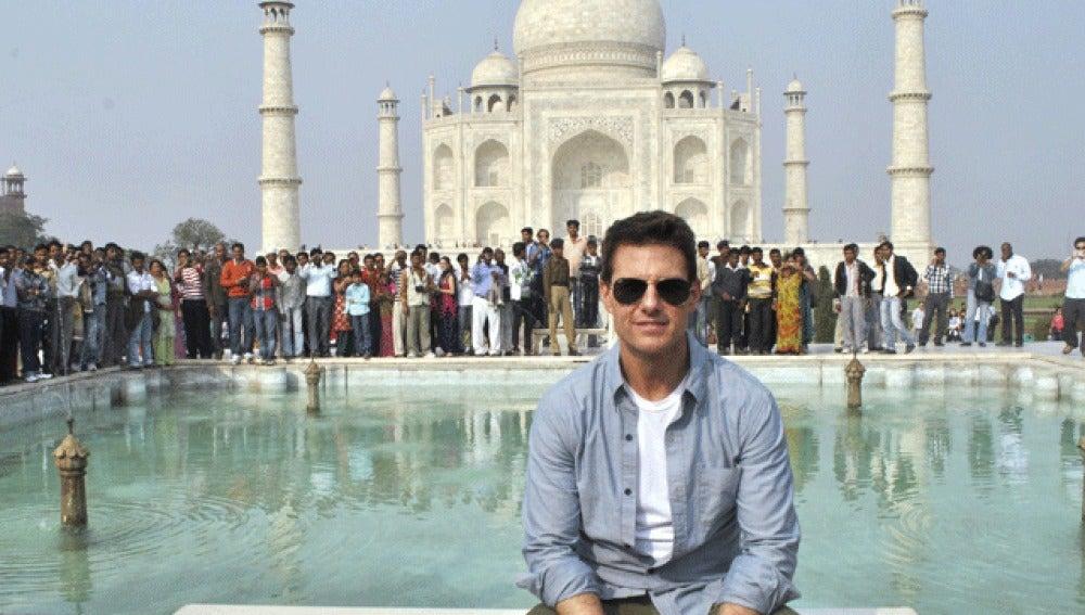 Tom Cruise, en la India