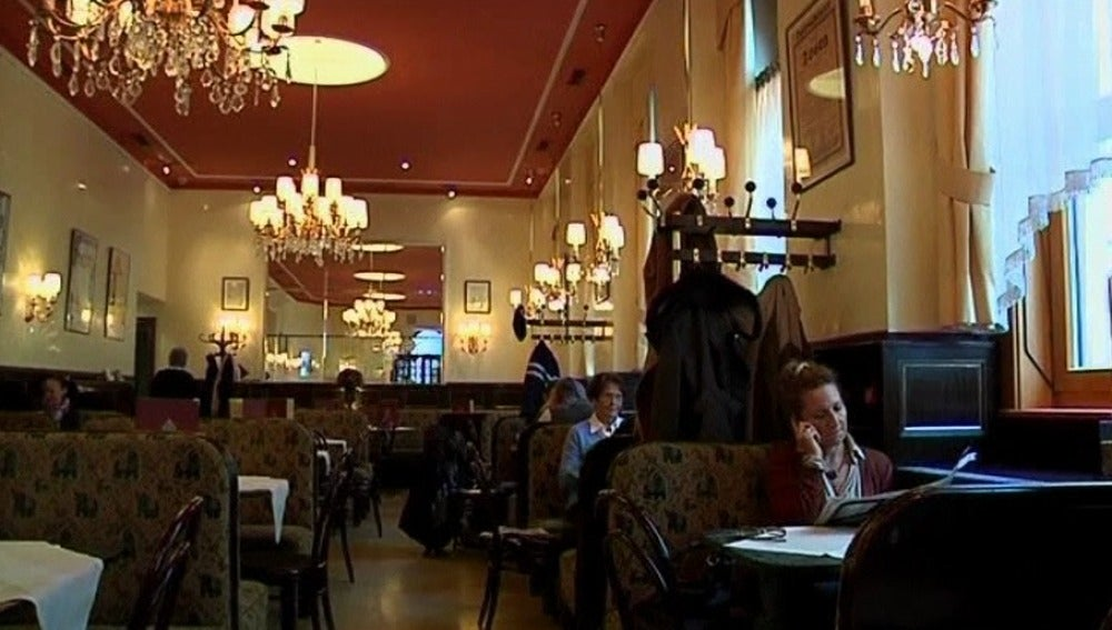 El siglo XIX está muy representado en los cafés de Viena