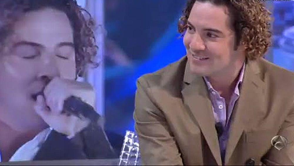 David Bisbal, en 'El Hormiguero'