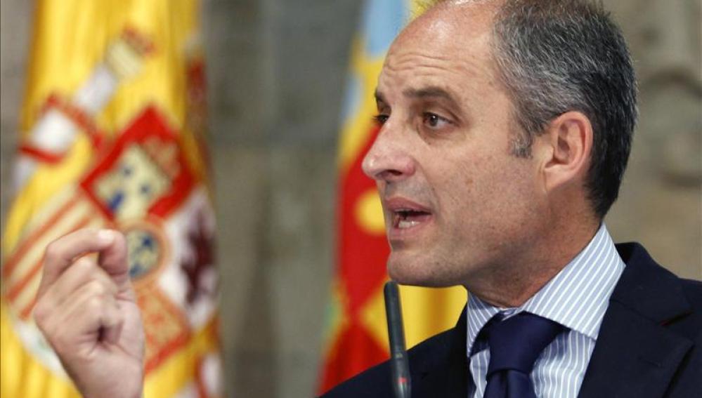 Francisco Camps, expresidente de la Comunidad Valenciana