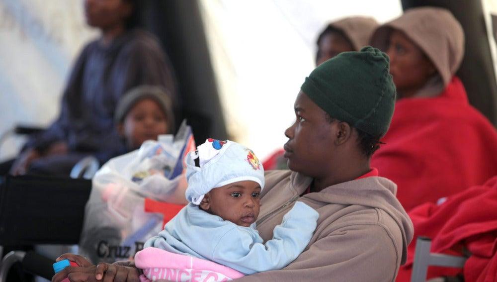 Inmigrantes llegados a Tarifa