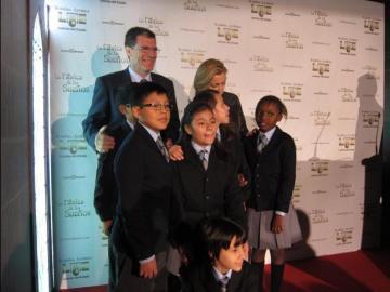 Los niños del Colegio de San Ildefonso