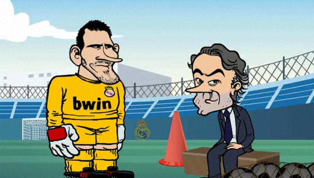Mourinho en un serie animada de TV