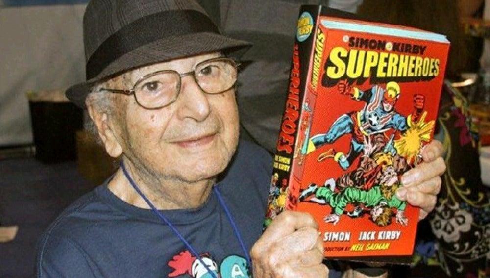 Fallece Joe Simon, creador de Capitán América