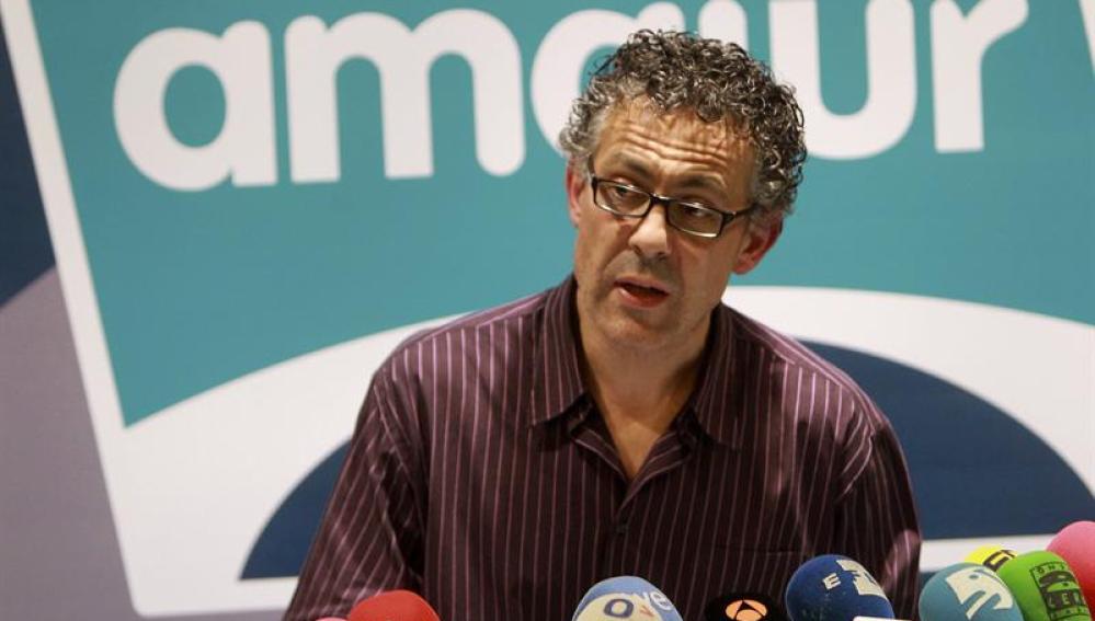 El portavoz en el Congreso de Amaiur, Jon Mikel Errekondo