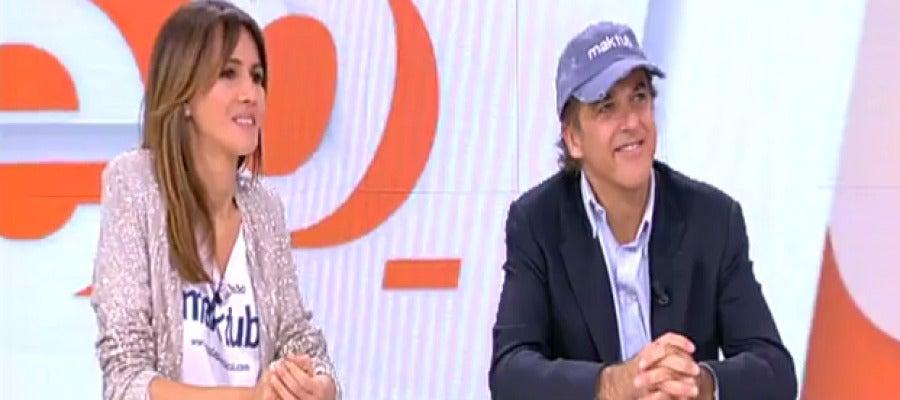 Antena 3 tv paco arango y goya toledo presentan la for Ver espejo publico hoy