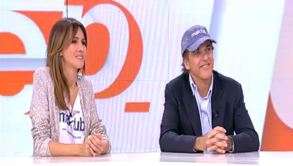 Paco Arango y Goya Toledo